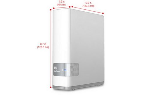 WD My Cloud 4TB