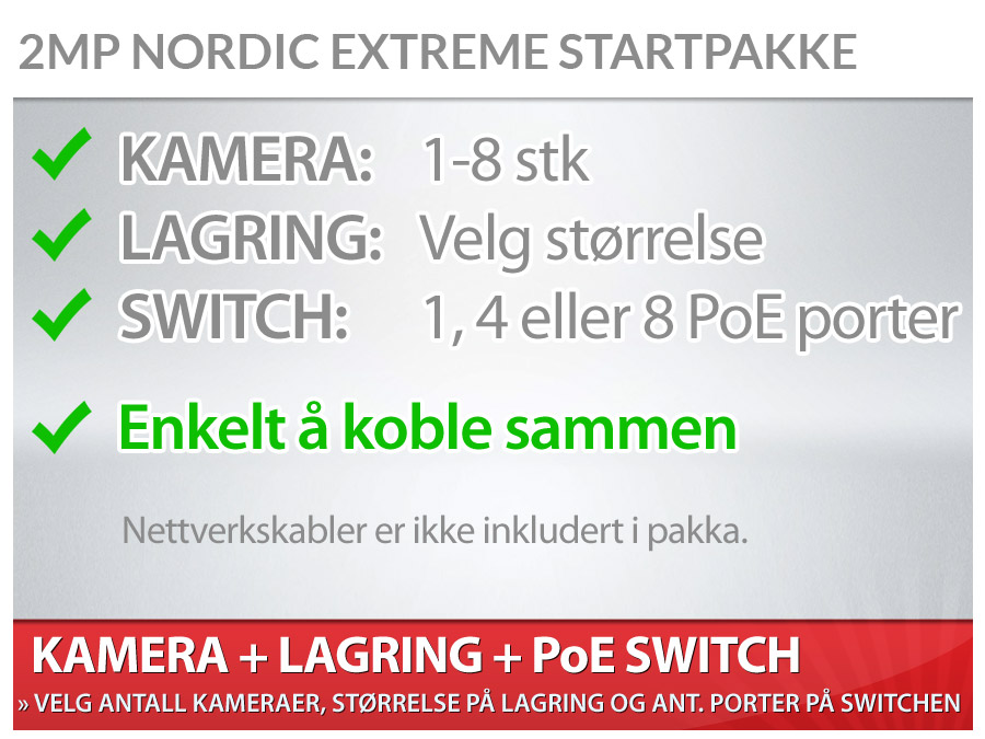 Nordic Extreme pakke