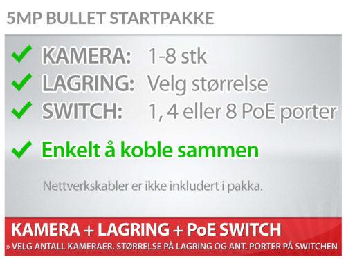 Bullet startpakke